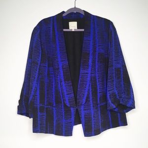 Sejour Nordstrom Abstract Blazer - Plus Size 16W
